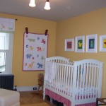 Victorian - bright happy nursery.