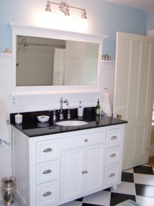 Top to bottom bathroom renovation in Victorian