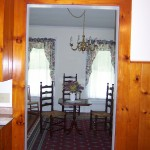 Dining room before move in - apparently they ate small meals here!