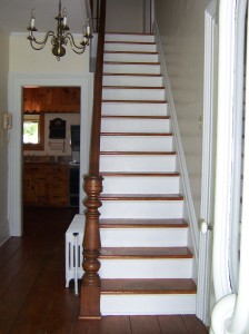 We all fell down these stairs at least once.