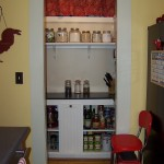 Pantry in Farmhouse kitchen
