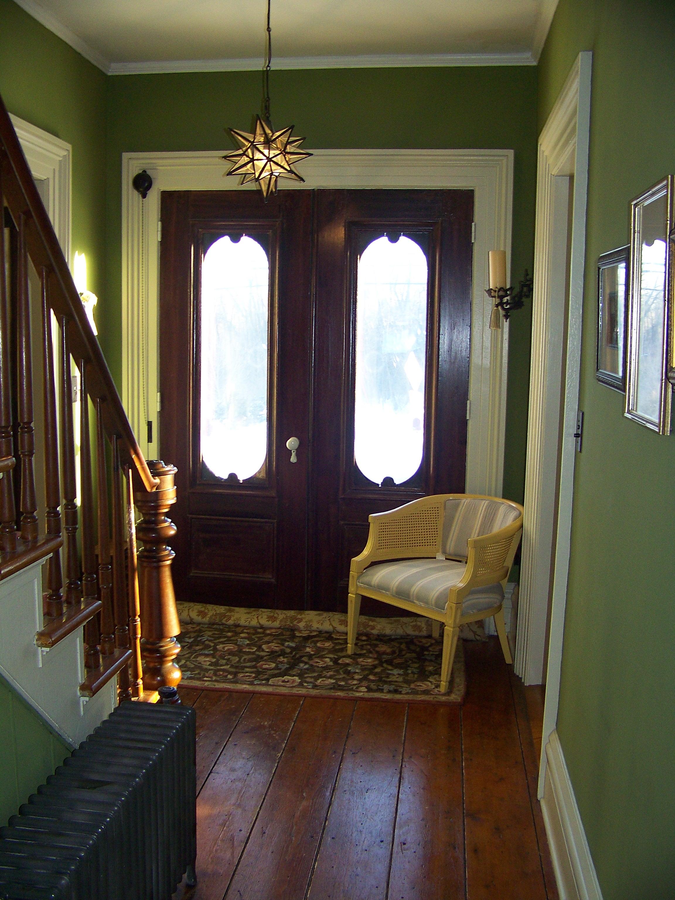 Original Farmhouse Front Doors Circa 1800 Interior
