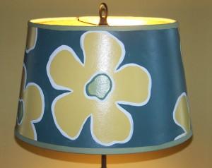 Custom Painted Lamp Shade - Cost - $0