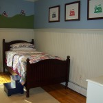 Toddler's Room with Mural and Custom Artwork by elSage Designs and Mural Painted by Dawn DiLorenzo