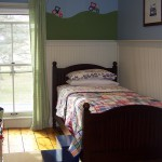Big Boy Room with Tractor Mural