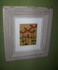 Ikea Flower Art