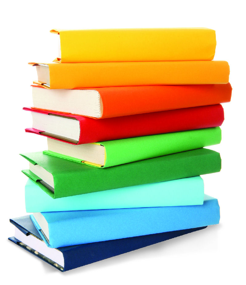 colorful books - Book Pictures To Color
