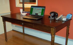 Pottery Barn Printer's desk