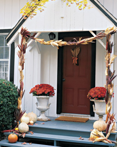 decorate the front door